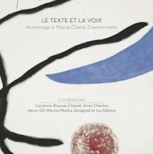 Le Texte et la Voix – Hommage à Marie-Claire Zimmermann